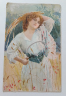 Carte Postale Région D'Italie Liguria B Cascella Casa Del Pane S M La Regina Madre 1907 - Non Classés