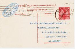 PORTUGAL, En 1911 De Lisbonne   Entier Surch Republica  TB - Entiers Postaux