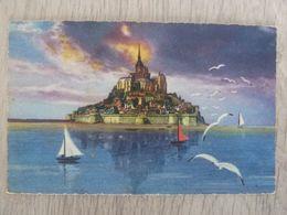 LE MONT-SAINT-MICHEL - VUE GENERALE - - Le Mont Saint Michel