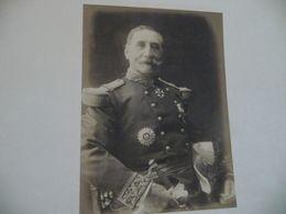 Photo Original Sur Feuille Gerschel Paris Officier Décoration Lichenstein  Confirmer - War, Military