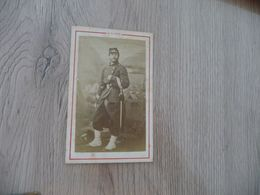 Photo CDV  Militaire Militaria  E.Baron Soldat 170 ème Officier Sabre - War, Military