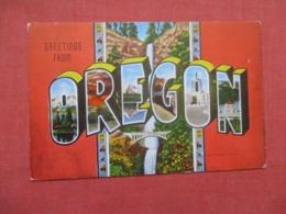 Greetings From  Oregon  Ref 4158 - Etats-Unis