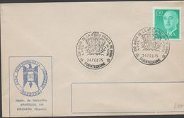 3522  Carta Puentedeume, , 450 Aniversariod E La Batalla De Pavia  Da Veiga 1975 - 1931-Hoy: 2ª República - ... Juan Carlos I