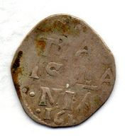 NETHERLAND STATES - OVERYSSEL, 2 Stuiver, Silver, Year 1618, KM #20 - [ 1] …-1795 : Période Ancienne