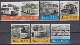 Moderne Privatpost: Citykurier Gera 2010. ÖPNV - Historische Busse Und Bahnen In Ostthüringen, Mi 63 - 69 - Bus