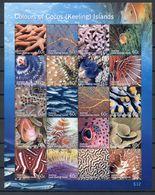 COCOS ISLANDS * 2011 * M/Sheet (20 Stamps) * MNH** Marine Life - Mi.No 464-483 - Kokosinseln (Keeling Islands)