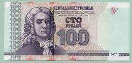 Moldova Moldova Transnistria 2012 Banknotes  100 Rub. Press UNC - Moldavie