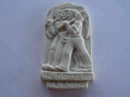 BRESLAU 26/08/1934 PLAQUE EN CERAMIQUE? WW2 DU REICH? ORIGINAL - Militaria