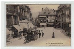 73 AIX LES BAINS #12851 PLACE CARNOT ATTELAGE DILIGENCE N° 58 - Aix Les Bains
