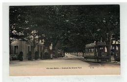 73 AIX LES BAINS #12854 AVENUE DU GRAND PORT TRAMWAY EDIT J. D. - Aix Les Bains