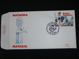 """BELG.1993 2528 FDC  : """" Natasja / Natacha """" - FDC"""