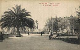 BILBAO- PLAZA ELÍPTICA. VIZCAYA PAÍS VASCO ESPAÑA ESPAGNE - Vizcaya (Bilbao)