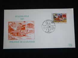 """BELG.1987 2264 FDC : """" Suske En Wiske / Bob Et Bobette """" - FDC"""