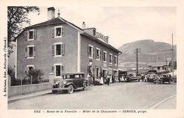 01 - N°110741 - Gex - Route De La Faucille - Hôtel De La Chaumière - Voitures - Gex