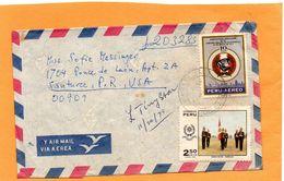 Peru Cover Mailed - Pérou