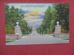 Entrance Duke University  North Carolina > Durham>   Ref 4159 - Durham