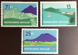 Netherlands Antilles 1957 Tourist Publicity MNH - Curaçao, Nederlandse Antillen, Aruba