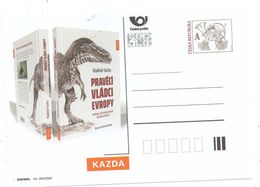 Czech Republic 2020 - New Book Prehistoric Rulers Of Europe, Special Postcard, MNH - Timbres