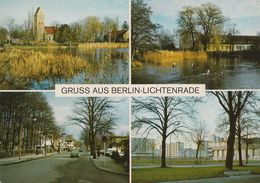 D-12307 Berlin - Lichtenrade - Alte Ansichten - Bahnhofstraße - Cars - Tempelhof