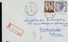 Doc. De TIELEN - A A - Du 03/10/72 En Rec. - Marcophilie