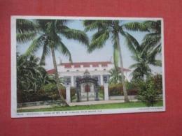 Home Of Mr H M Flagler  Florida > Palm Beach >  Ref 4160 - Palm Beach