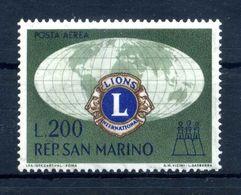1960 SAN MARINO SERIE COMPLETA MNH ** PA Lions Club Posta Aerea - Nuovi