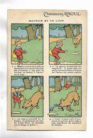"""Carte Postale Illustrée Par B. Rabier - """" Maurice Et Le Loup """"  Offerte Par Chaussures RAOUL - Rabier, B."""