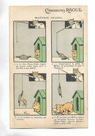 """Carte Postale Illustrée Par B. Rabier - """" Mauvais Calcul """"  Offerte Par Chaussures RAOUL - Rabier, B."""