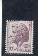 Suisse - Année 1946 - Service - Oblitéré - N°Zumstein 22 - BIE - Jean-Henri Pestalozzi - Service