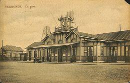 028 553 - CPA - Belgique - Dendermonde - Termonde - La Gare - Dendermonde