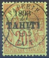 Tahiti N°25 Oblitéré - Cote 60€ - (F1159) - Tahiti