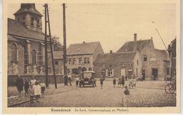 Ramsdonck - De Kerk, Gemeenteplaats En Melkerij - Geanimeerd - Oldtimer - Em. Beernaert, Lokeren - Kapelle-op-den-Bos