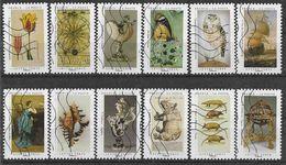2020 FRANCE Adhesif 1827-38 Oblitérés, Cabinet Curiosité, Série Complète - Adhésifs (autocollants)