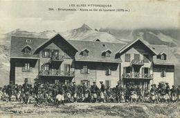 Briançonnais Alpins Au Col Du Lautaret ( 2075m) RV - France