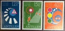Netherlands Antilles 1973 Road Safety MNH - Curaçao, Nederlandse Antillen, Aruba