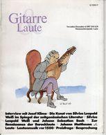 Revue De Musique -  Gitarre & Laute - N° 6 - 1987 - Josef Klima - Music