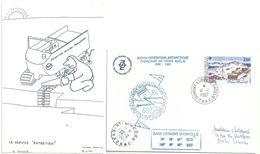 YT 127 Base Marret - Dumont D'Urville - Terre Adélie - 14/01/1987 - Briefe U. Dokumente