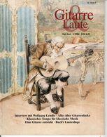 Revue De Musique -  Gitarre & Laute - N° 3 - 1986 - Wolfgang Lendle - Music