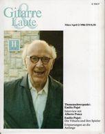 Revue De Musique -  Gitarre & Laute - N° 2 - 1986 - Emilio Pujol - Music