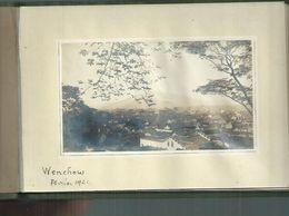 Chine. Petit Album Avec 11 Photos 14cm X 8cm De Wenchow En 1921 ( Wenzhou ) - Places