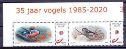 Belgie - 2020 - ** Duostamps - Goudvink - 35 Jaar Vogels 1985 - 2020 - 30 Jaar S.P.A.B.1990 - 2020 - A. Buzin ** - 1985-.. Vögel (Buzin)