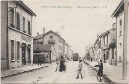 Lyon Monplaisir : Route D'Heyrieux - Lyon