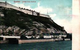 CPA - QUEBEC - La Citadelle Vue Du Port … - Québec - La Citadelle
