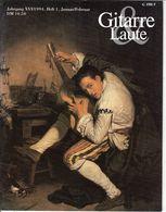 Revue De Musique -  Gitarre & Laute - N° 1 - 1994 - Music