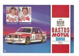 25461 - Tour De Corse Bastos Motul BMV Bernard Beguin Jean-Jacques Lenne (format 10 X 15) - Rallyes