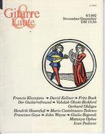 Revue De Musique -  Gitarre & Laute - N° 6 - 1992 - Music