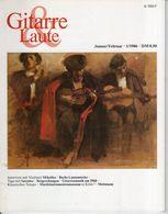 Revue De Musique -  Gitarre & Laute - N° 1 - 1986 - Music