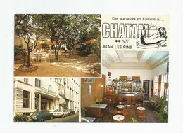 06 Juan Les Pins Hotel Bar Pension Chatam 6 Avenue Dr Fabre - Antibes