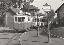 Schepdael Statie , Schepdaal ,( Dilbeek ), Photo De Tram En Gare , Automotrice - Dilbeek