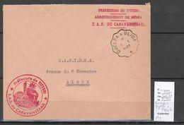 Algerie - Lettre - Cachet Convoyeur DJELFA à BLIDA - Algerie 1962 - Brieven En Documenten